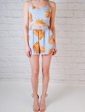 Shorts Palm Leaf Coordinating Shorts