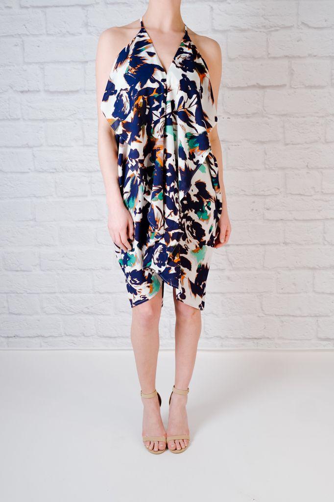 Mini Draper Dress