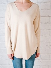 Sweater Lace Back Pullover