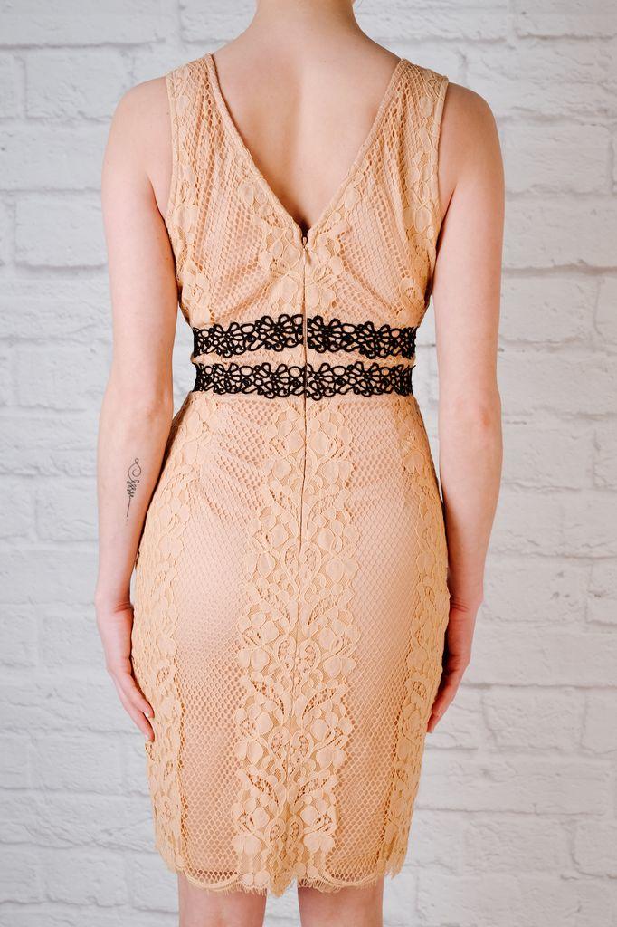 Mini Peachy lace dress