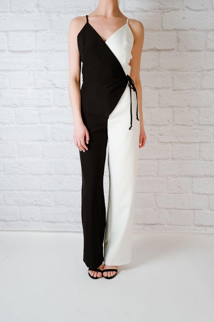 Dressy Constrast jumpsuit