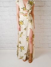 Skirt Floral Maxi Skirt