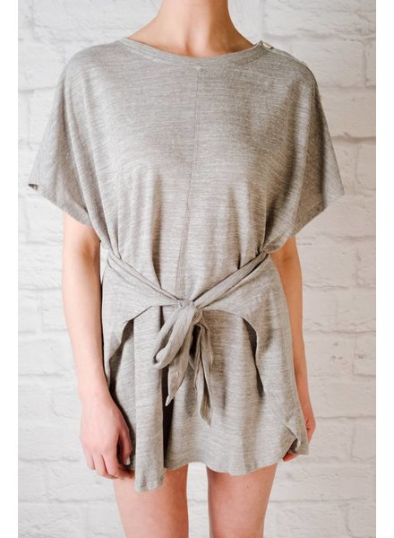 Casual Heathered jersey romper