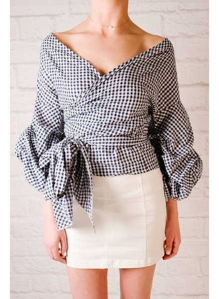 Skirt A Line White Denim Skirt