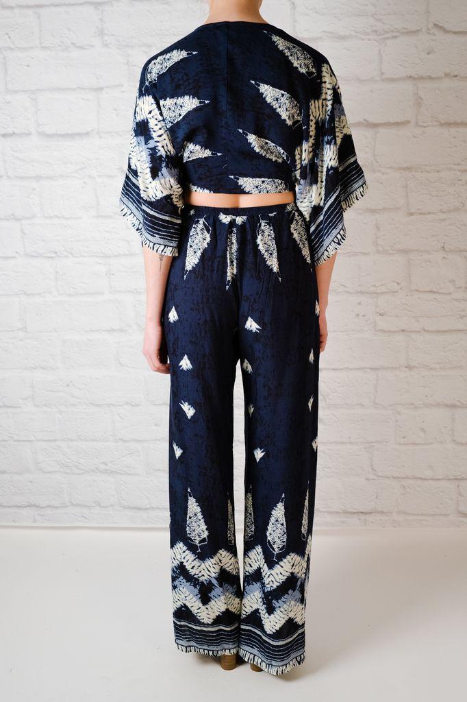 Pants Tribal split front pants