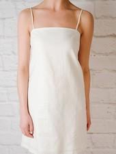 Mini Linen Tie Back Dress