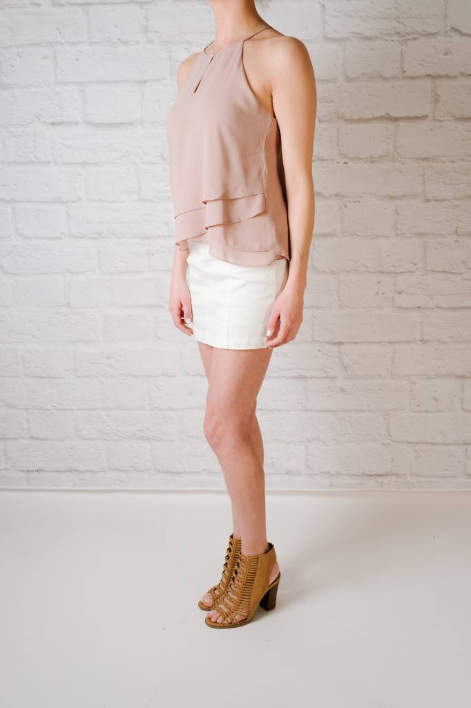 Blouse Layered Front Tank