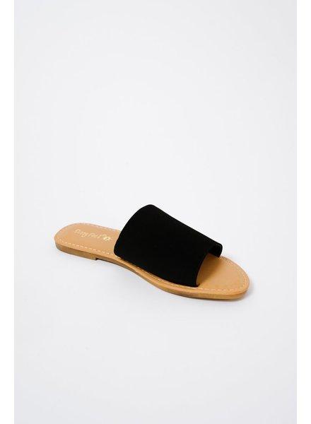 Sandal Black soft classic slide