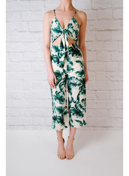 Casual Banana leaf jumpsuit