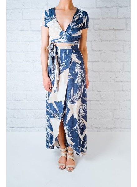 Skirt Leaf Maxi Skirt