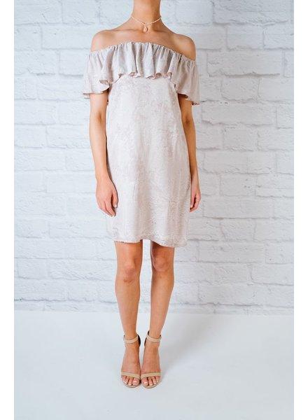 Mini Ruffle Tier OTS Dress