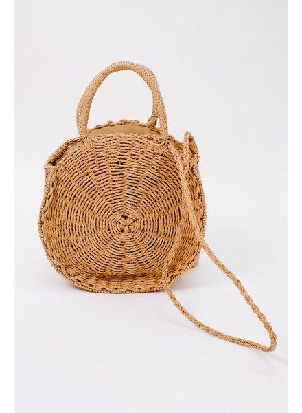 Handbag Woven handle bag