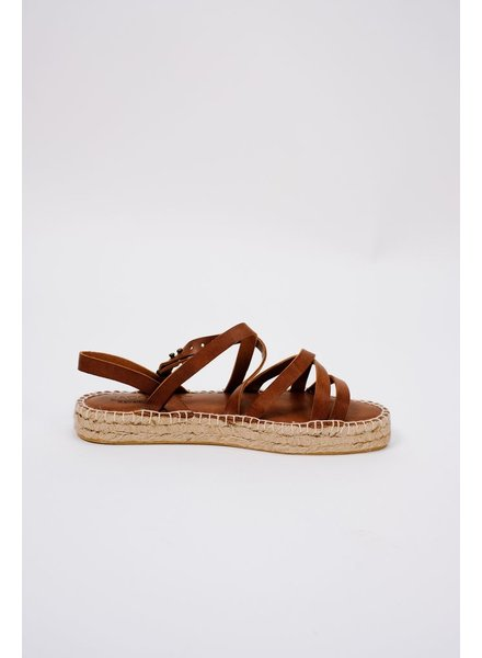 Sandal Strappy leather espadrilles