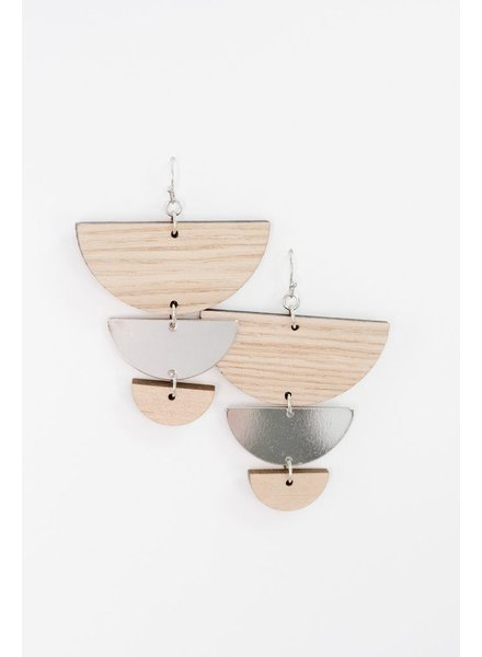 Trend Silver Natural Tiers
