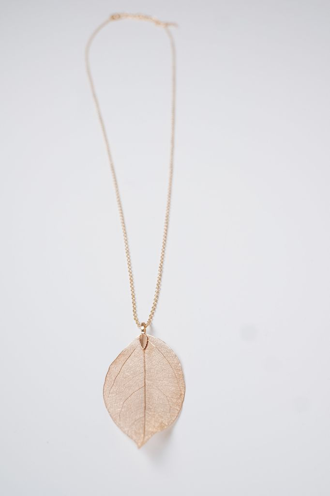 Long Long filagree leaf