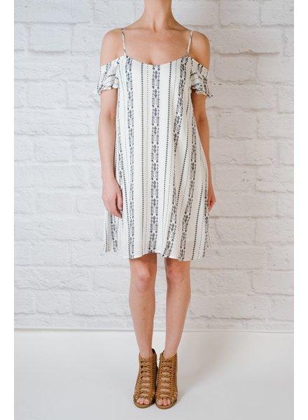 Mini Tribal Print Dress
