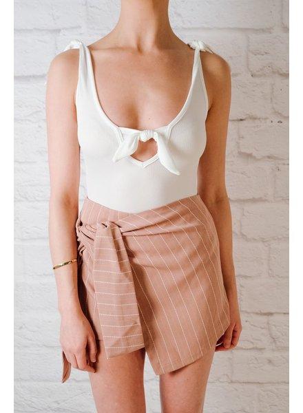 Skirt Striped Skort