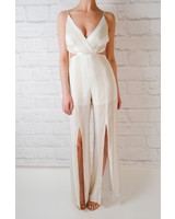 Jumpsuit Sand Striped Jumpsuit