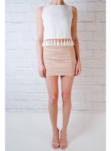 Skirt A Line Khaki Skirt