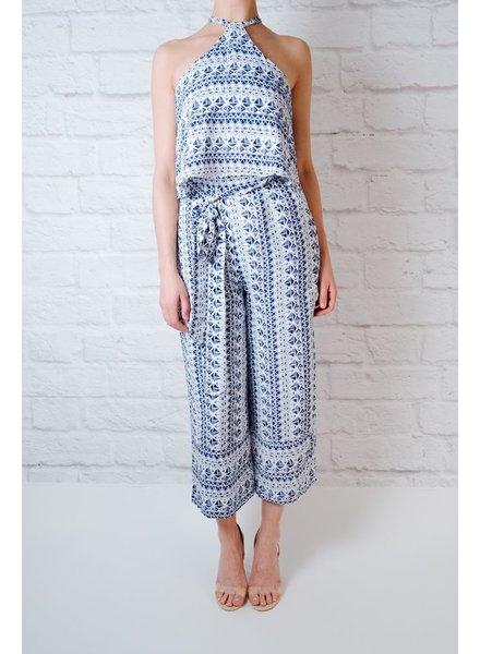 Pants Nautical Culotte Pant