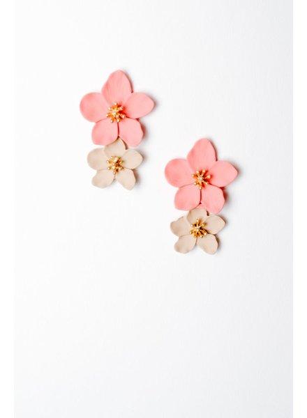 Trend Clay Flower Earring