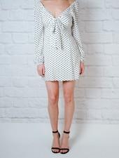 Mini OTS Polka Dot Dress
