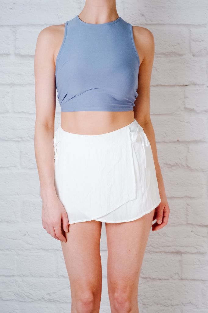 Skirt Double Tie Skort