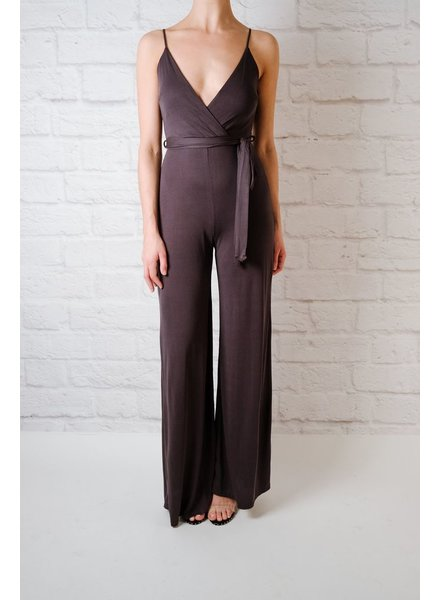 Jumpsuit Black Jersey Jumpsuit