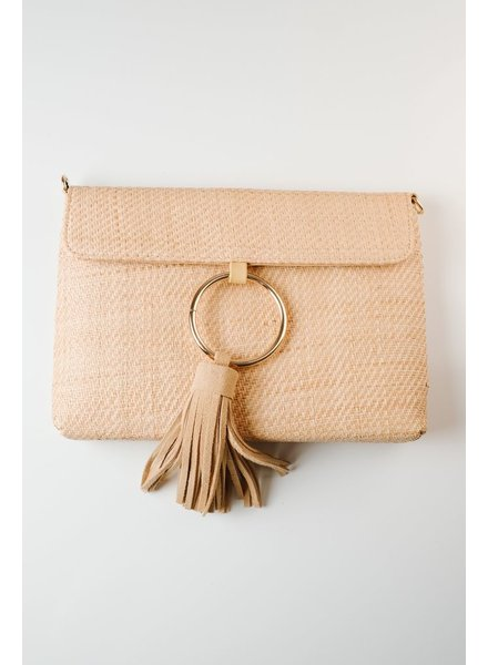Clutch Ring and tassel clutch