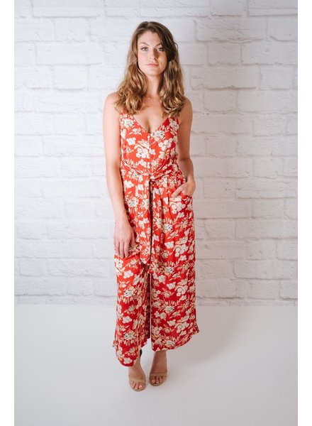 Jumpsuit Poppy Print Jumpsuit
