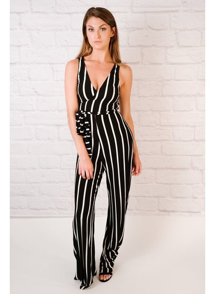 Jumpsuit Wrap Top Jumpsuit