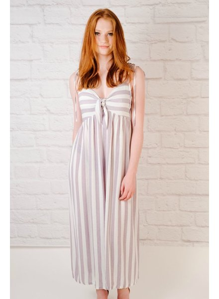 Jumpsuit Lavender Striped Jumpsuit