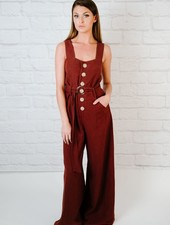 Jumpsuit Button Front Jumpsuit