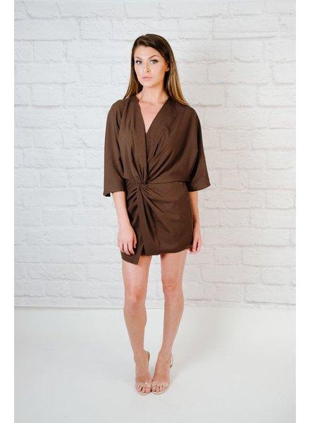 Romper Twist Front Dress