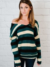 Sweater Twist Back Sweater