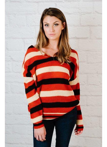 Sweater Twist Back Sweater