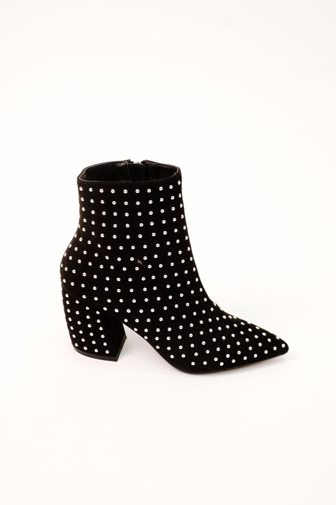 Bootie Micro-Studded Bootie