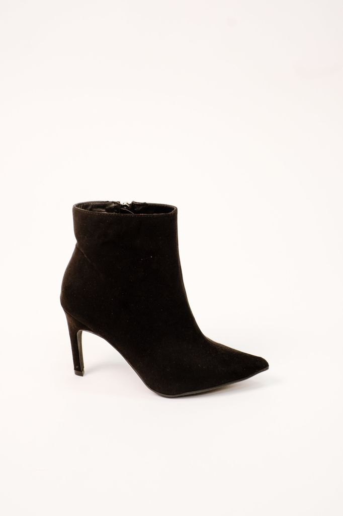 Boot Classic Black Heeled Bootie