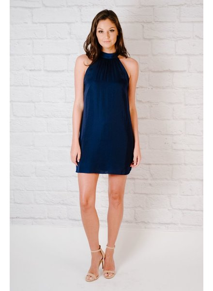 Dressy Mock Neck Dress
