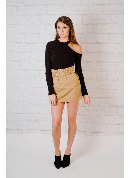 Skirt Paper Bag Skirt