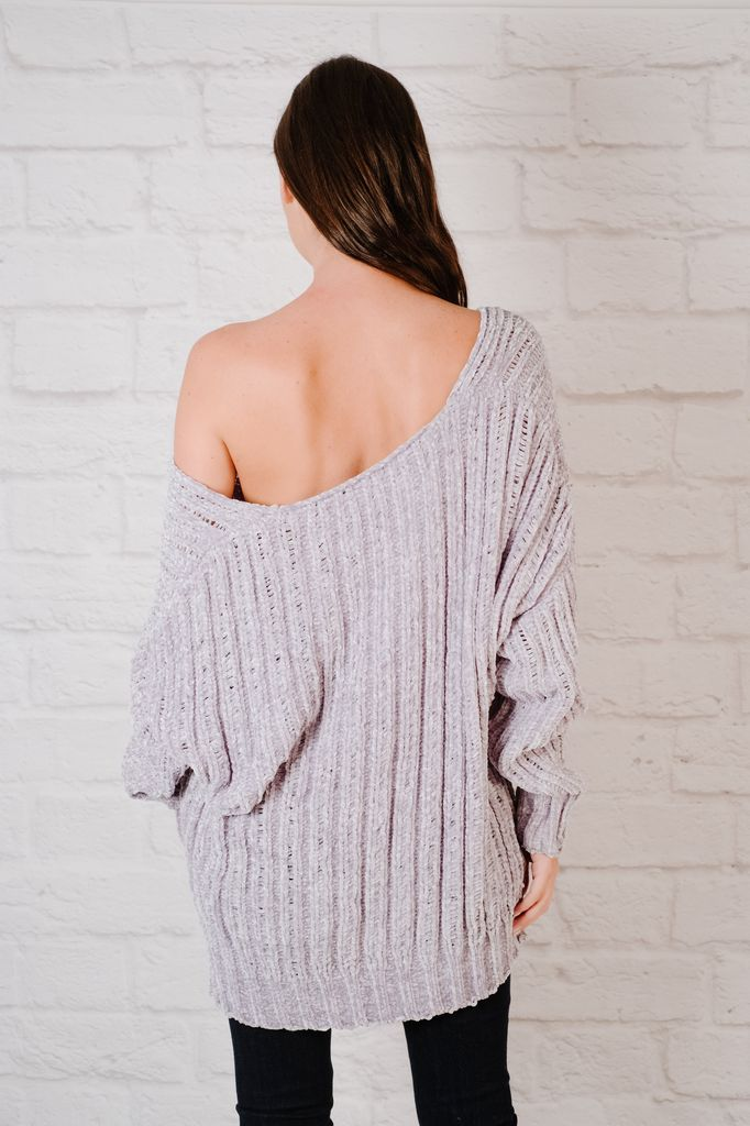 Sweater Chenille Loose Knit