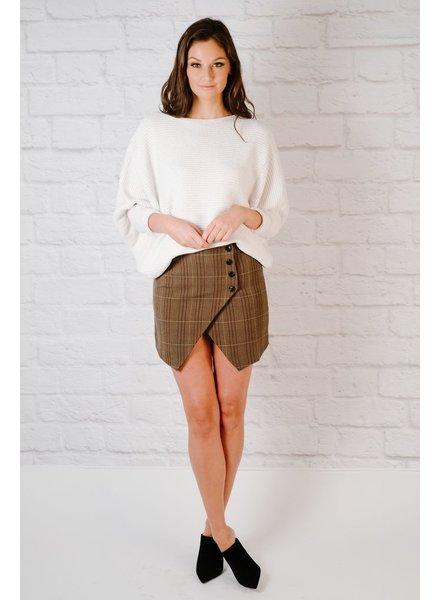 Skirt Preppy Plaid Skirt