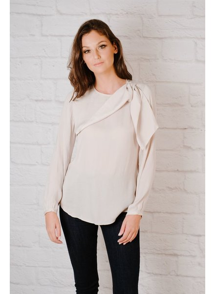 Blouse Knot Shoulder Blouse