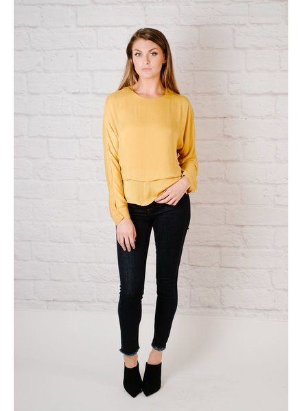 Blouse Double Layered Blouse