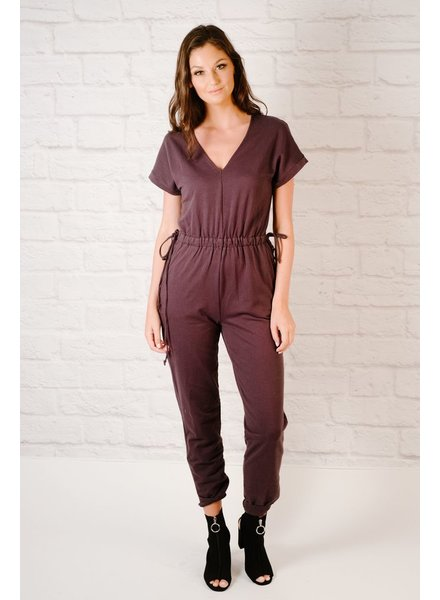Jumpsuit Open Back Weekend Jumpsuit