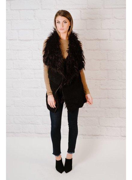 Vest Shag Faux Fur Vest