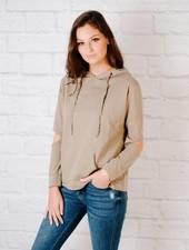 Sweatshirt Open-Elbow Pullover