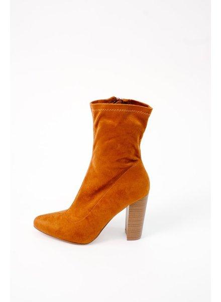 Boot Cognac Midi Boot