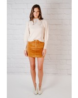 Skirt Corduroy Mini Skirt