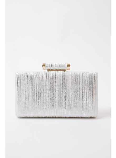 Clutch Silver metallic clutch
